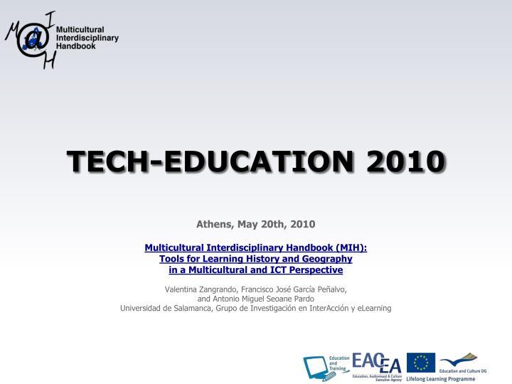 TECH-EDUCATION 2010