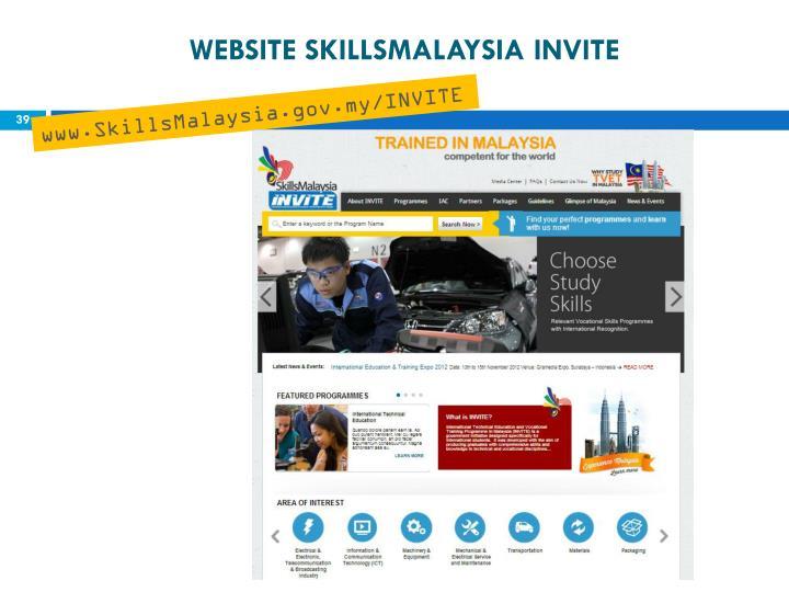 WEBSITE SKILLSMALAYSIA INVITE