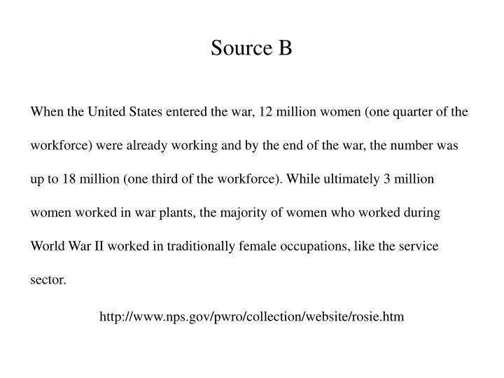 Source b