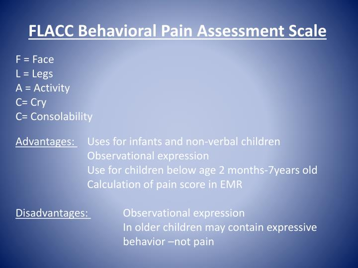 pain assessment week 5 essay Precise and systematic pain assessment is required to make the correct diagnosis and determine the most efficacious treatment plan for patients presenting with pain technique pain must be assessed using a multidimensional approach, with determination of the following.