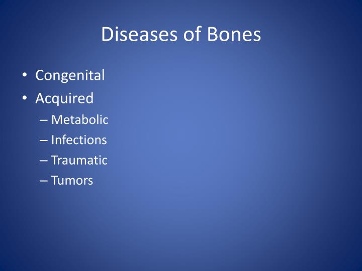 Diseases of bones1