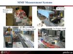 mmf measurement systems