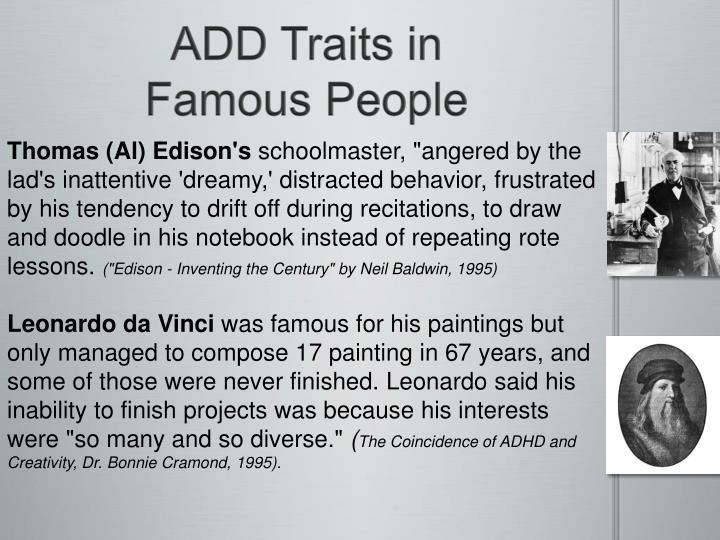 ADD Traits in