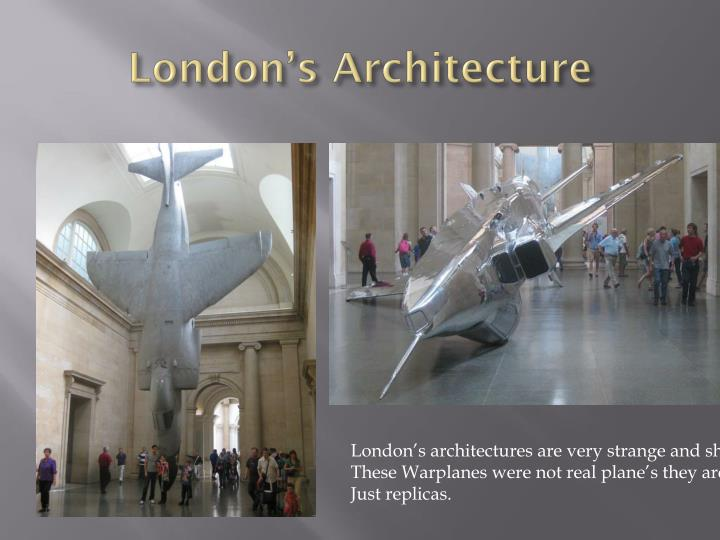 London s architecture