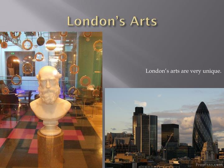 London's Arts