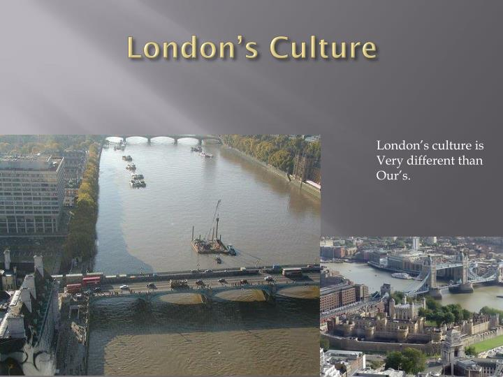 London s culture