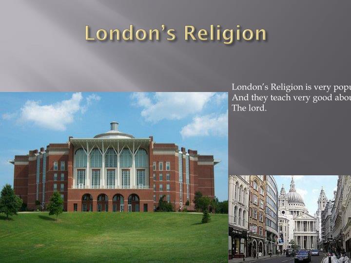 London's Religion