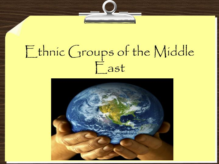 ethnic groups of the middle east n.