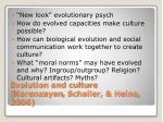 evolution and culture norenzayan schaller heine 2006