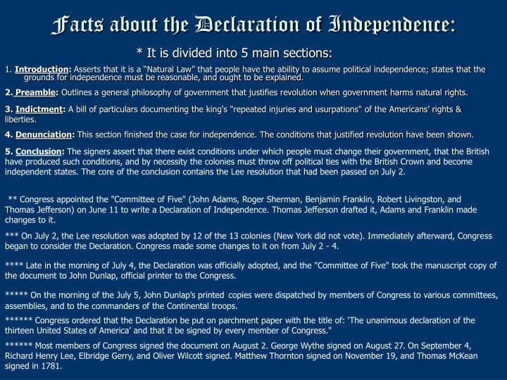 an analysis of the declaration of independence written by thomas jefferson Thomas jefferson page 1 reading text only  thomas jefferson wrote the declaration   thomas jefferson and the declaration of independence lesson answer key h.