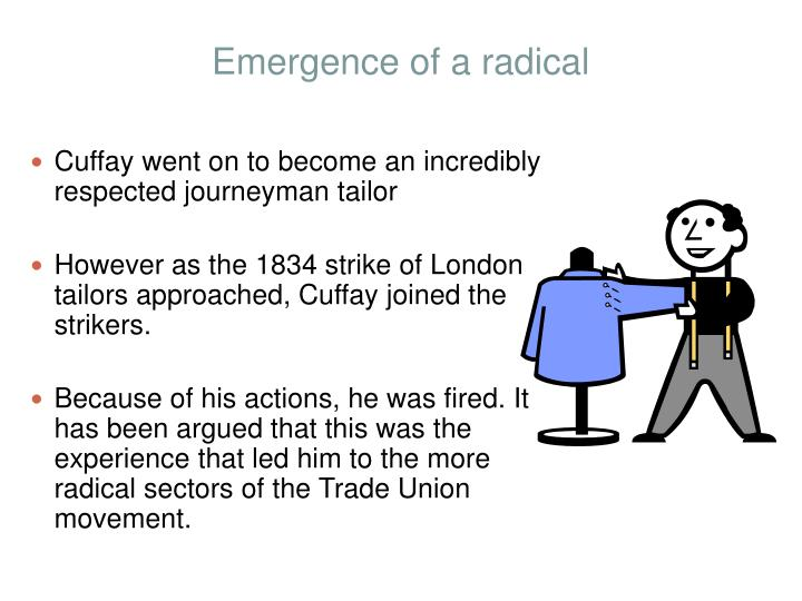 Emergence of a radical