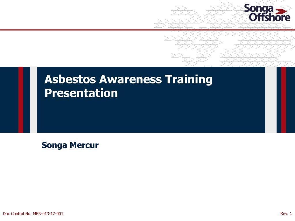 Ppt Asbestos Awareness Training Presentation Powerpoint