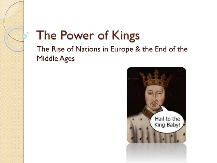 a comparison of the different views of kingship in europe during the middle ages Another tremendously successful civilization developed in western europe during the middle ages who adopted very different principles but aquinas view of.