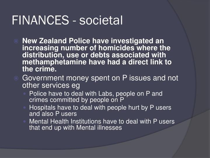 FINANCES - societal