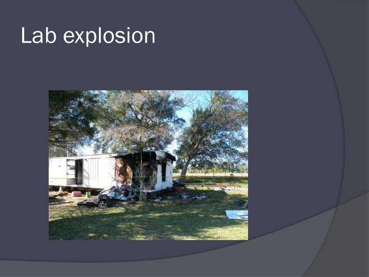 Lab explosion