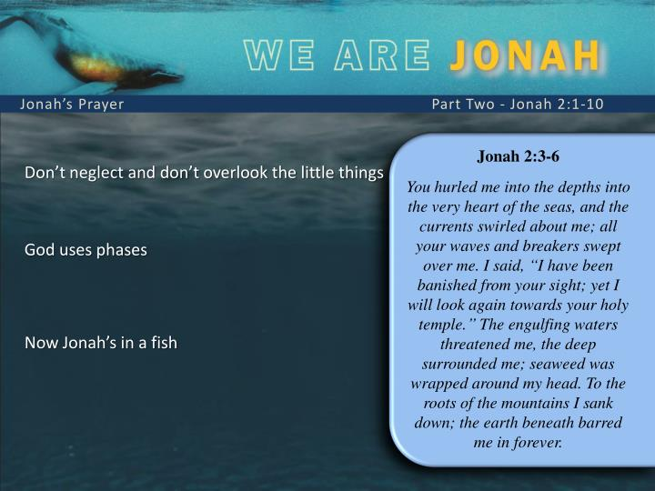 Jonah's Prayer