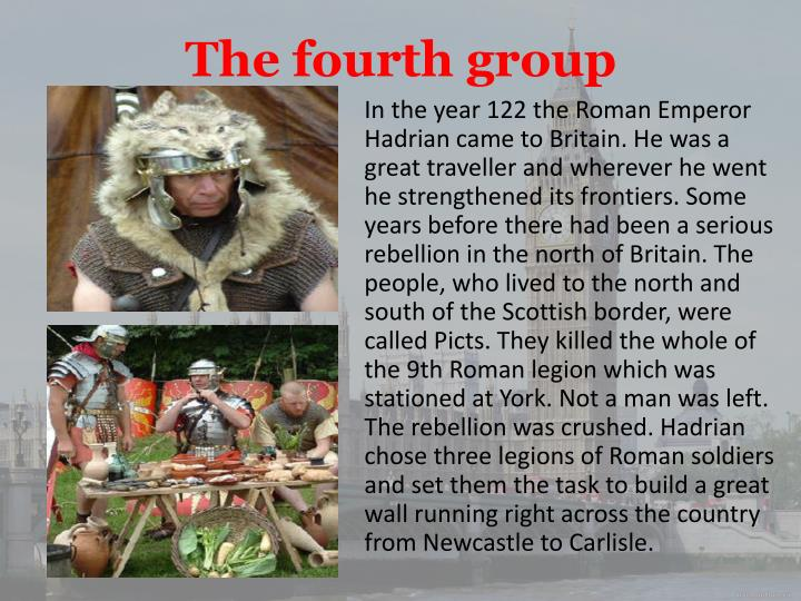 The fourth group