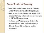 some truths of poverty1