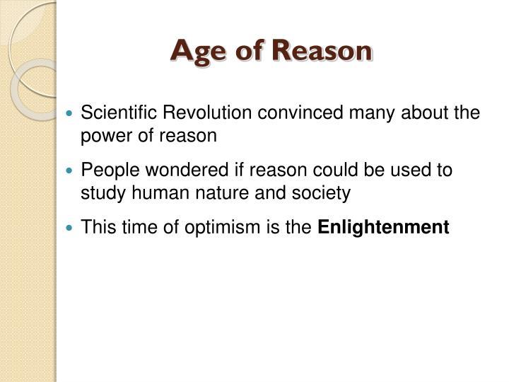 optimism in the enlightenment