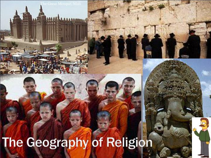 the geography of religion n.