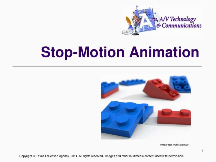 how to stop motion animation