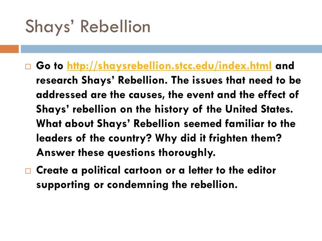 Ppt Shays Rebellion Powerpoint Presentation Id 2356812