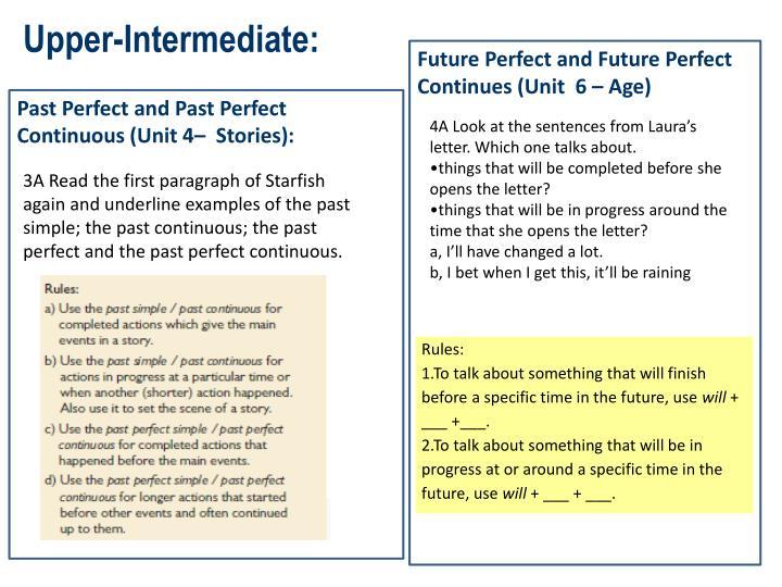 Upper-Intermediate: