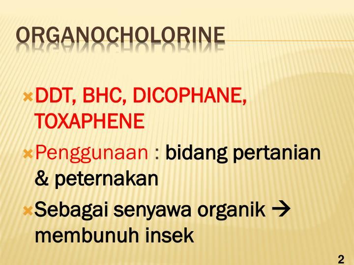 Organocholorine