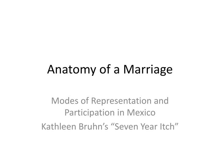 Magnificent Anatomy Of A Marriage Ornament Anatomy And Physiology