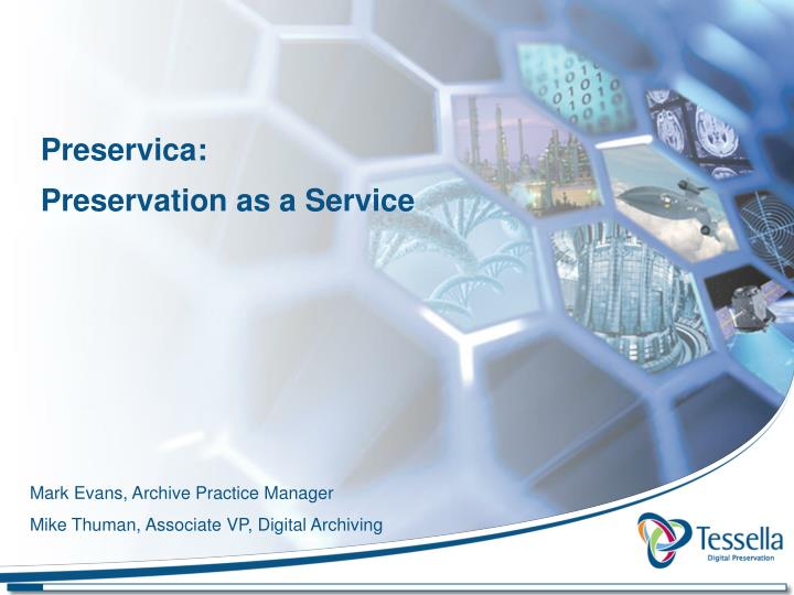 preservica preservation as a service n.