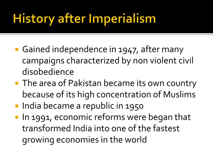 History after Imperialism