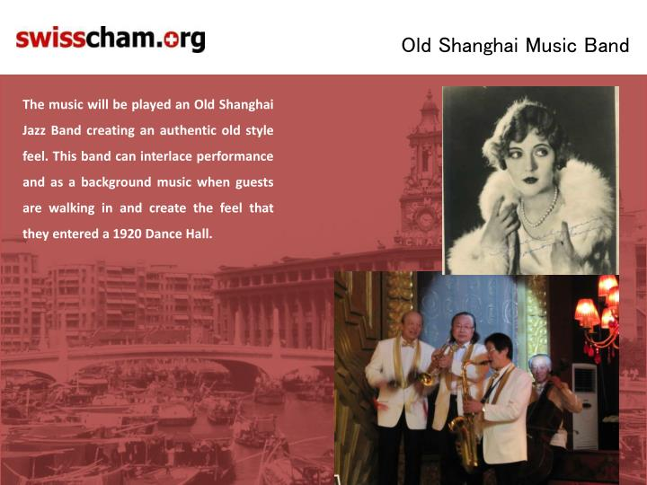 Old Shanghai Music Band