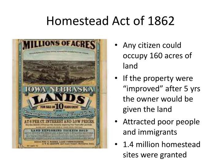 Homestead Act of