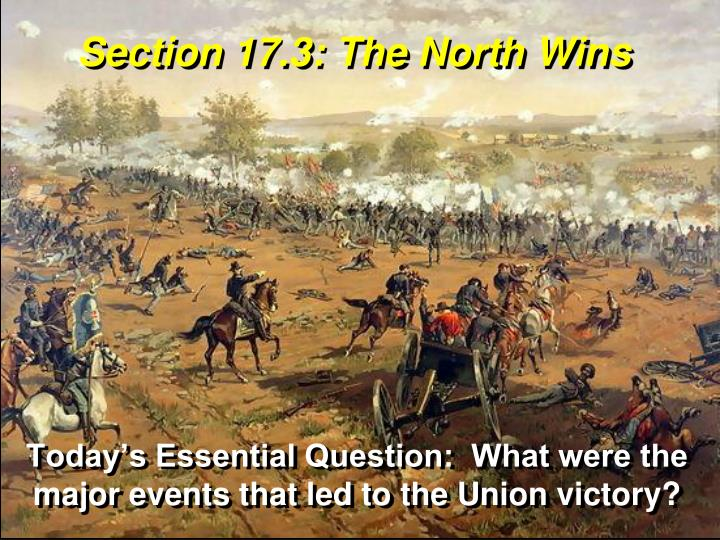 section 17 3 the north wins n.