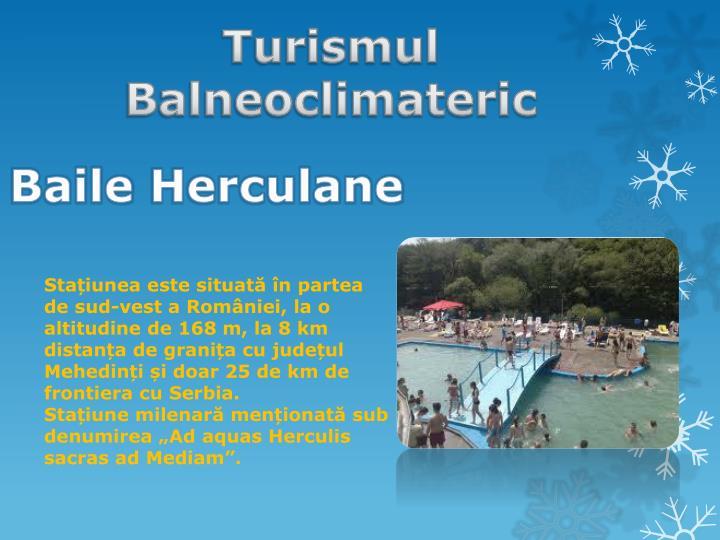 Turismul Balneoclimateric