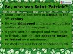 so who was saint patrick