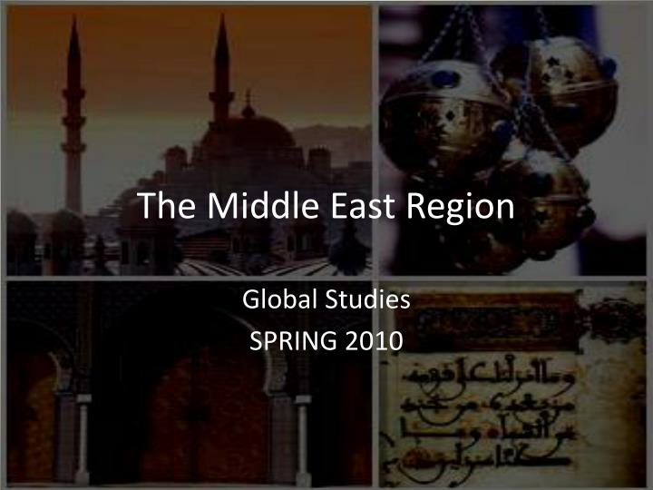 the middle east region n.
