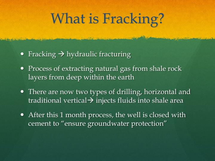 what is hydraulic fracking Why is fracking bad  fracking technology has transformed the us energy landscape in the  yet there is nothing inherently bad about fracking, or hydraulic.
