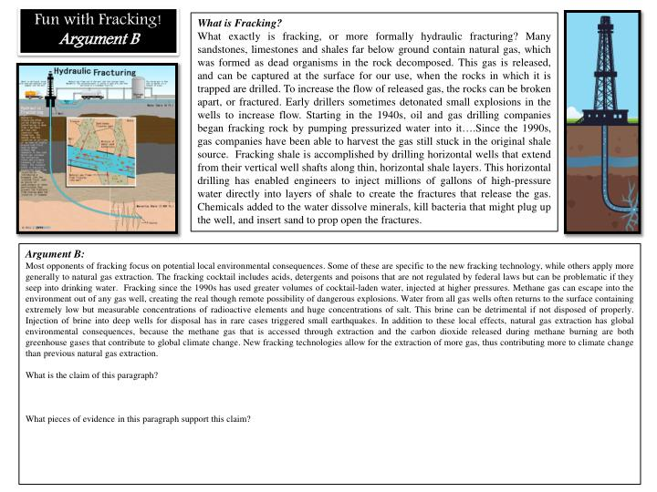 Fun with Fracking!