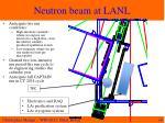 neutron beam at lanl1