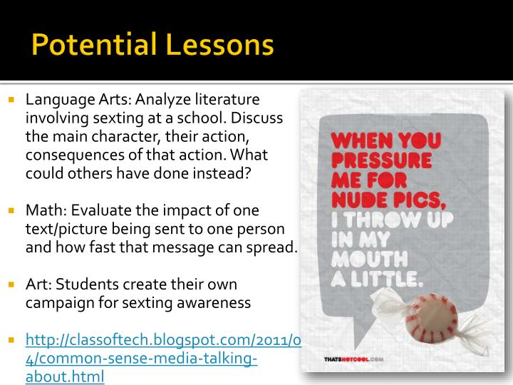 Potential Lessons