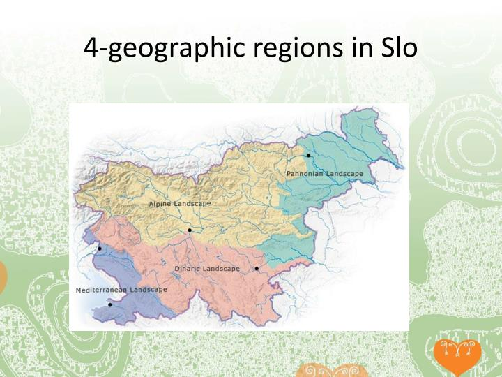4-geographic regions in Slo
