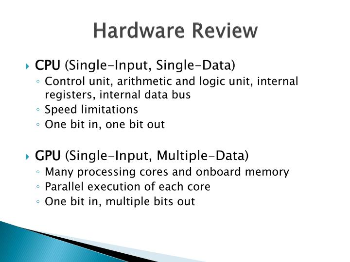Hardware Review
