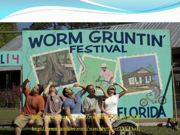 Worm Grunting/Charming