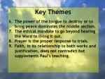 key themes8