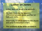luther on j ames3