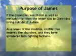 purpose of james3
