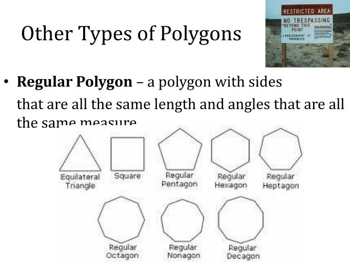 Other Types of Polygons