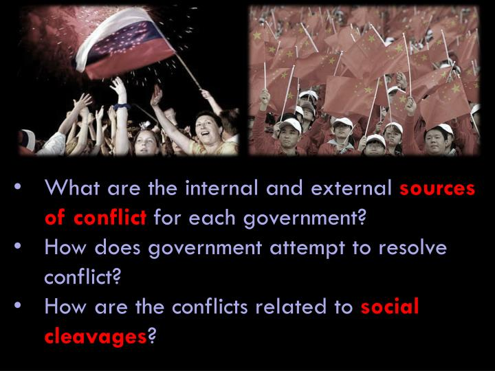 internal and external conflict