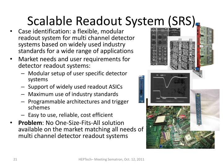 Scalable Readout System (SRS)